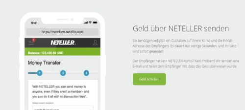 Neteller Geldtransfer